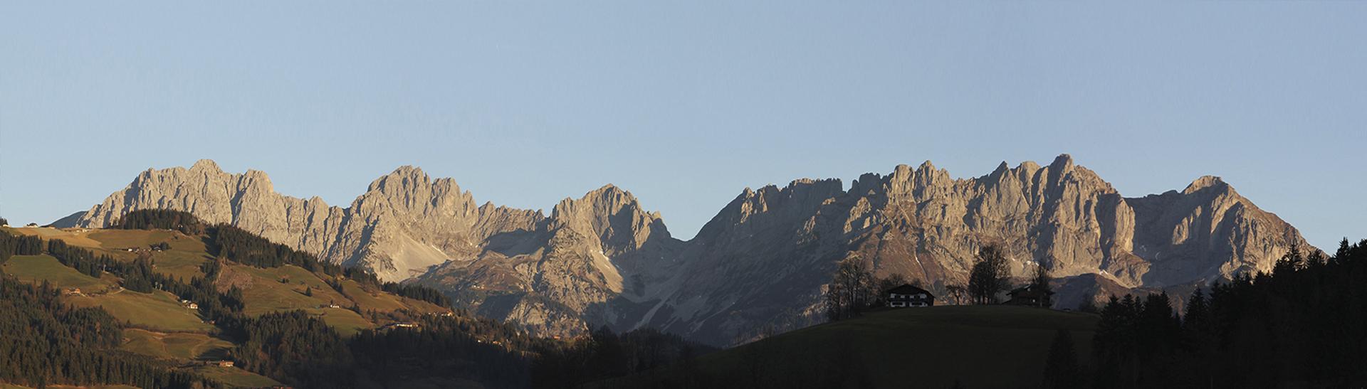 Wilder Kaiser Sonnenaufgang